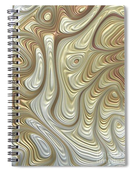 Titanium Flow Spiral Notebook