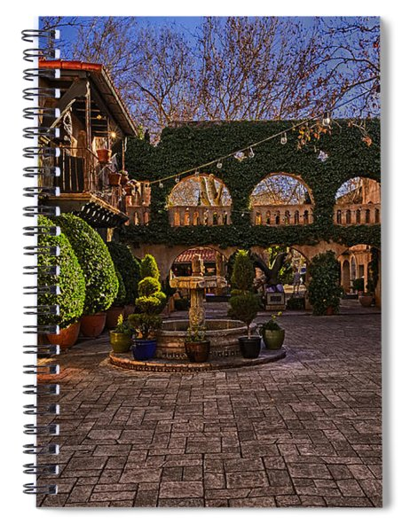 Tlaquepaque Village No.1 Spiral Notebook