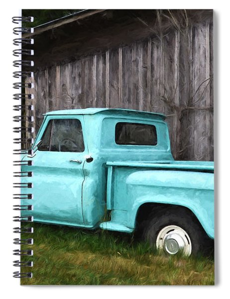 To Be Country - Vintage Vehicle Art Spiral Notebook