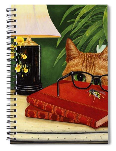 To Bee Or Not To Bee Spiral Notebook by Karen Zuk Rosenblatt