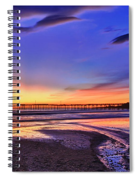 To The Sea Spiral Notebook