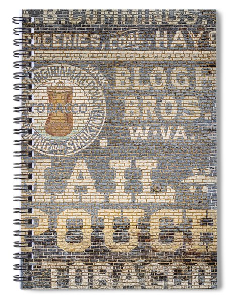 Tobacco Advertisement Spiral Notebook