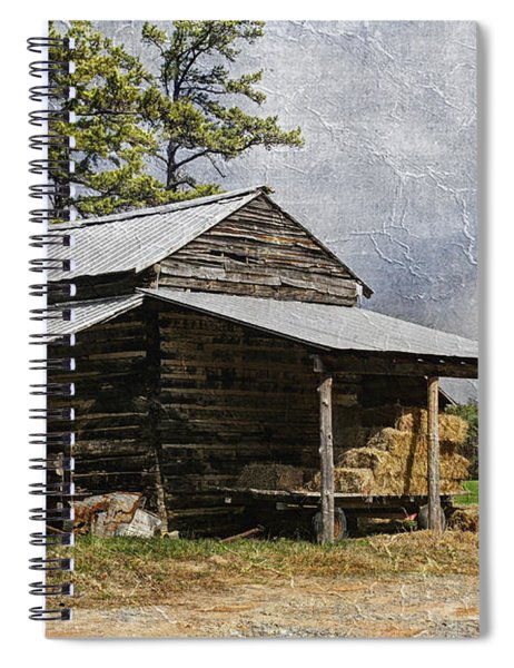 Tobacco Barn In North Carolina Spiral Notebook