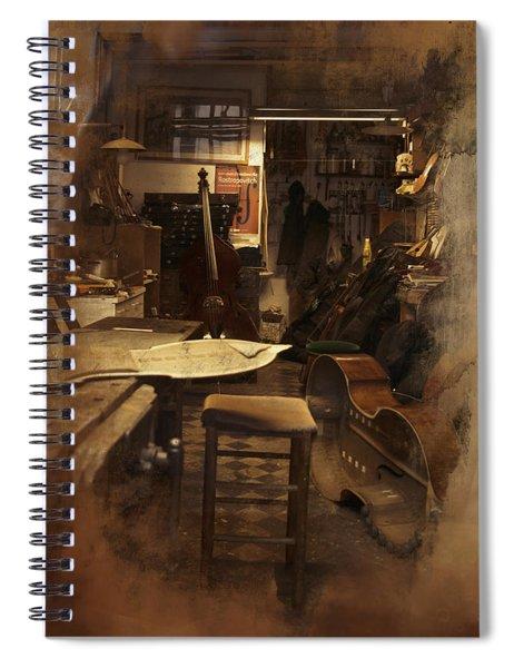 Tobacco Cello Spiral Notebook