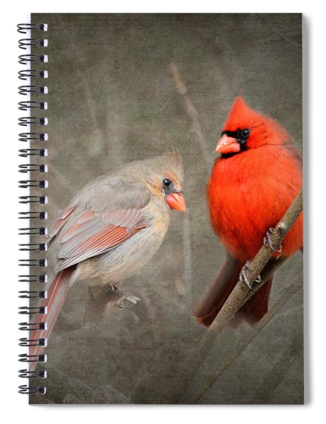 Together Again Spiral Notebook