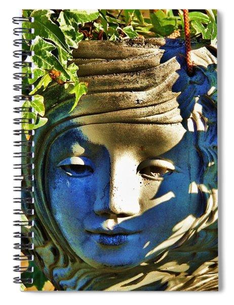 Told In A Garden Spiral Notebook