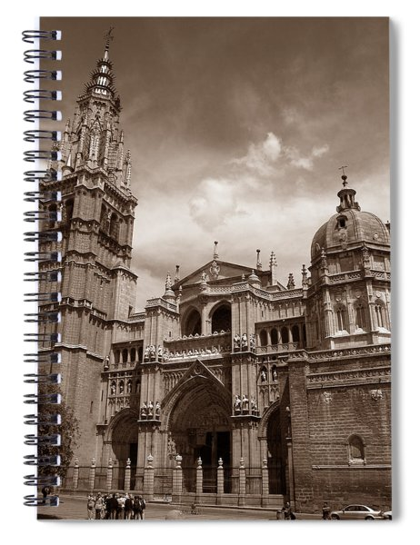 Toledo Cathedral Spiral Notebook