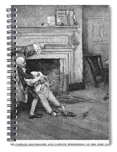 Tollemache And Pennington Spiral Notebook