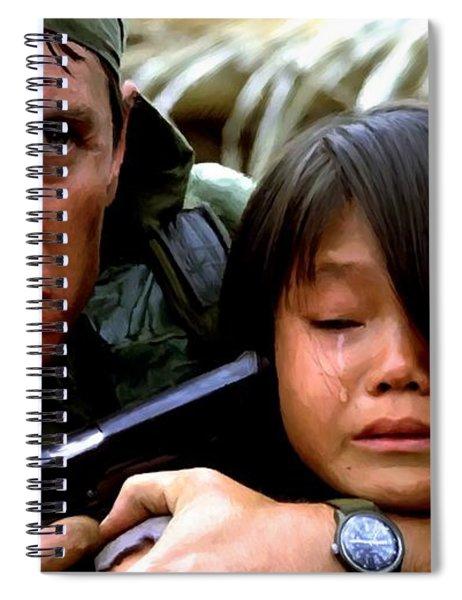 Tom Berenger In The Film Platoon - 1 Spiral Notebook