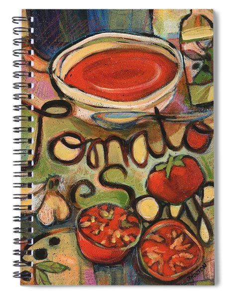 Tomato Soup Recipe Spiral Notebook