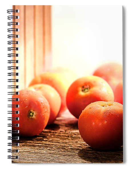 Tomatoes In An Old Barn Spiral Notebook