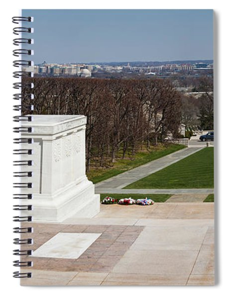 Tomb Of A Soldier In A Cemetery Spiral Notebook