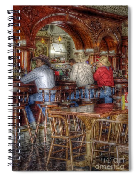 Tombstone Cowboys Spiral Notebook