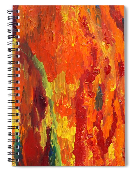 Embers Spiral Notebook