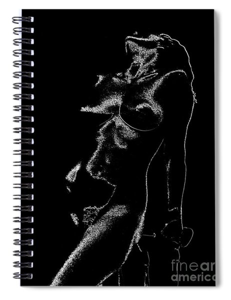 Tone-line Form Spiral Notebook