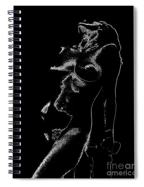 Tone-line Form Spiral Notebook