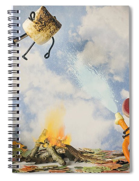 Too Toasted Spiral Notebook