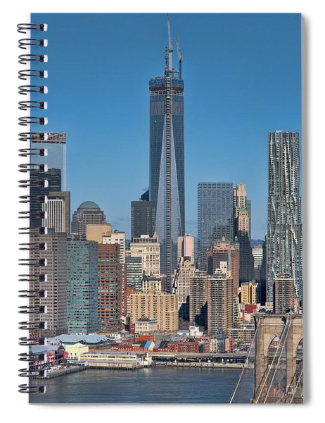 Topping Out Spiral Notebook