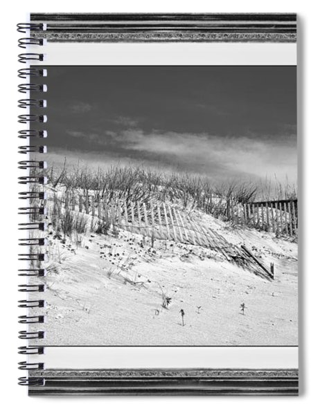 Topsail Island Day Of The Dunes  Spiral Notebook