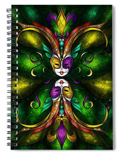 Topsy Turvy Spiral Notebook