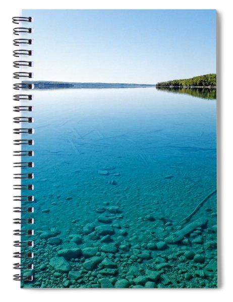 Torch Lake Spiral Notebook