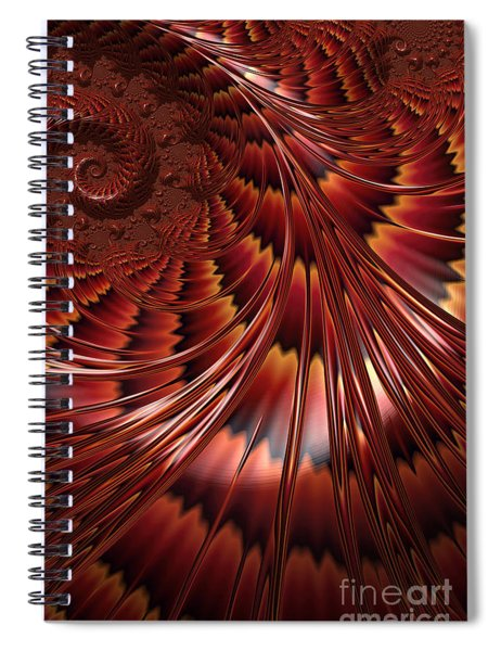 Tortoiseshell Abstract Spiral Notebook