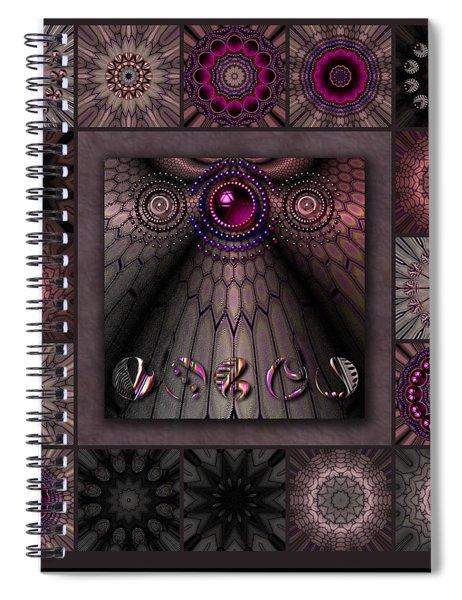 Tortured Glass Redux Spiral Notebook