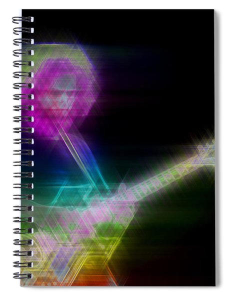 Touch Of Gray Spiral Notebook