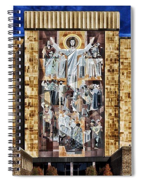Touchdown Jesus Spiral Notebook