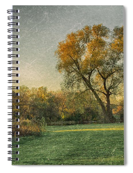 Touched By Light Spiral Notebook by Garvin Hunter