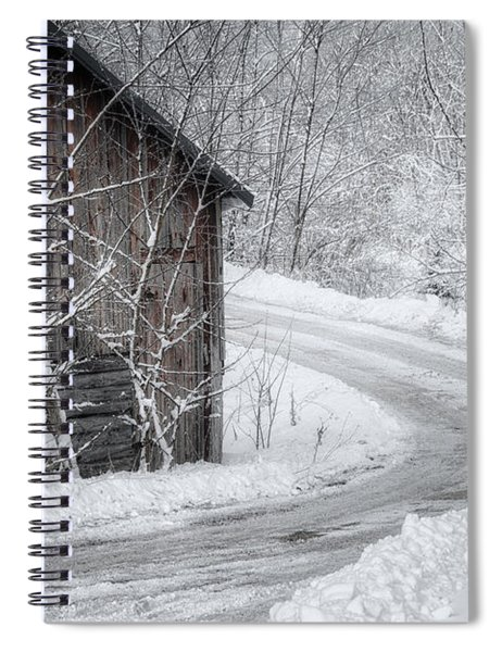 Touched By Snow Spiral Notebook