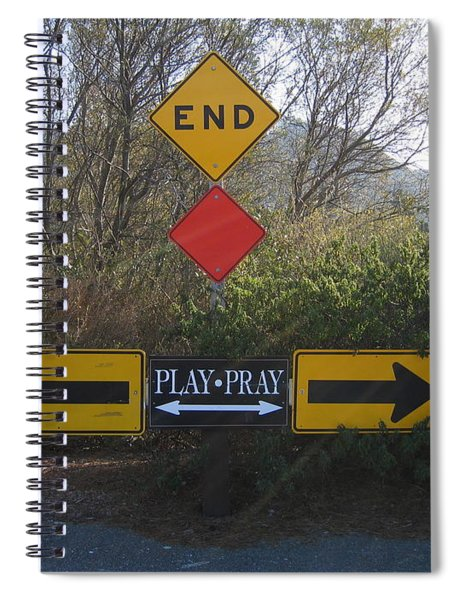 Tough Decision Spiral Notebook