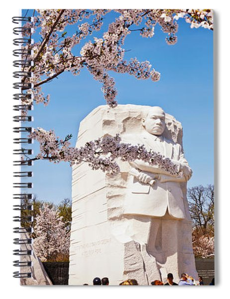 Tourists At Martin Luther King Jr Spiral Notebook