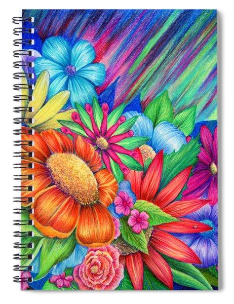 Toward The Light Spiral Notebook