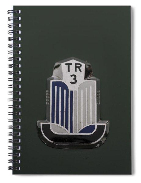 Tr3 Hood Ornament 2 Spiral Notebook