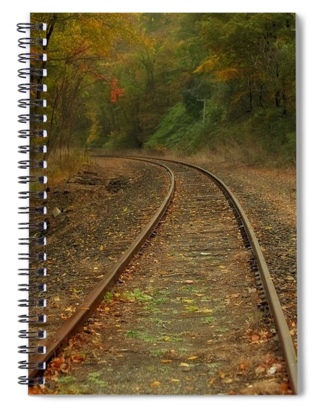 Tracking Thru The Woods Spiral Notebook
