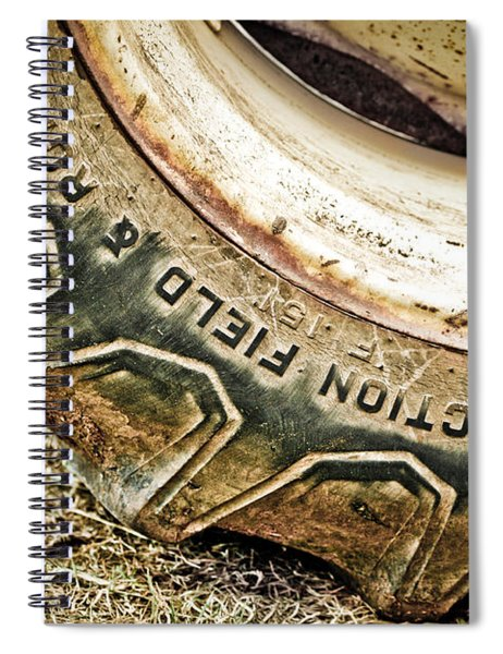 Tractor Tire Spiral Notebook