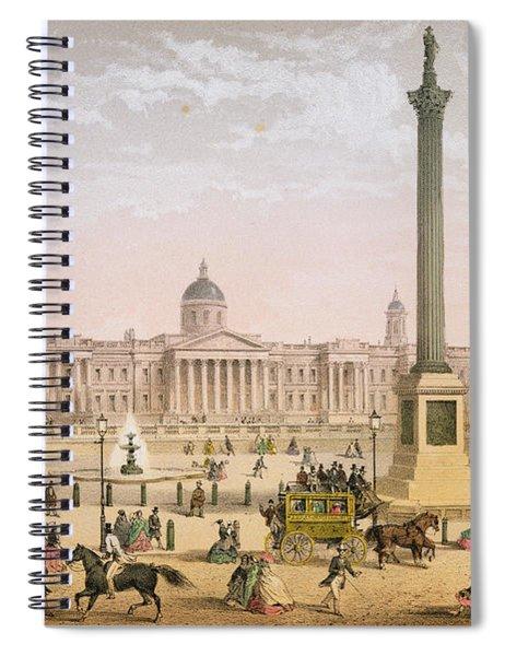 Trafalgar Square, C.1862 Spiral Notebook