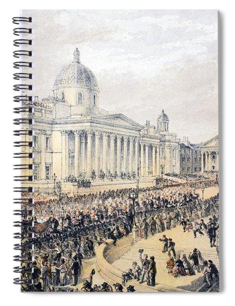 Trafalgar Square, From A Memorial Spiral Notebook