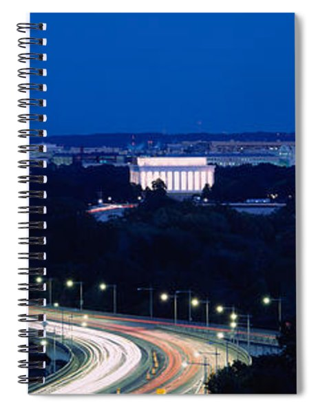 Traffic On The Road, Washington Spiral Notebook