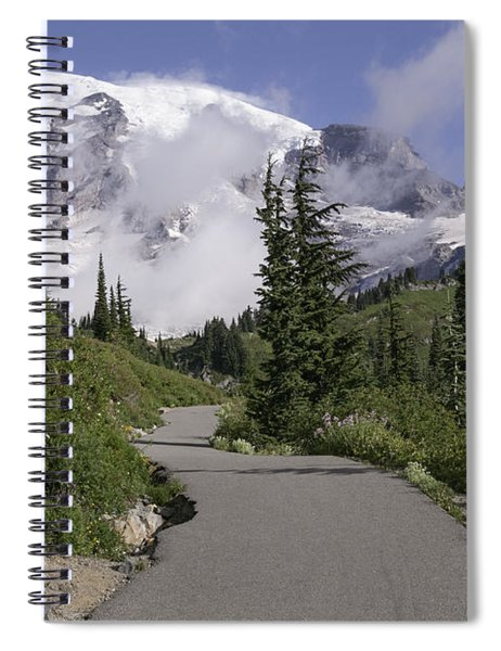 Trail To Edith Creek Spiral Notebook