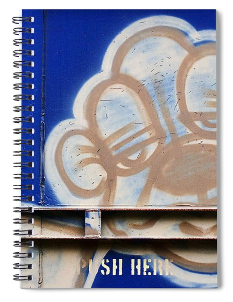 Train Art Cartoon Dog Spiral Notebook
