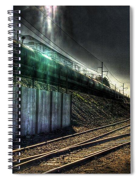 Train To Salvation Spiral Notebook