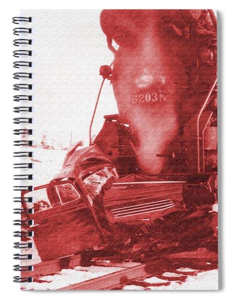 Train V Car Spiral Notebook