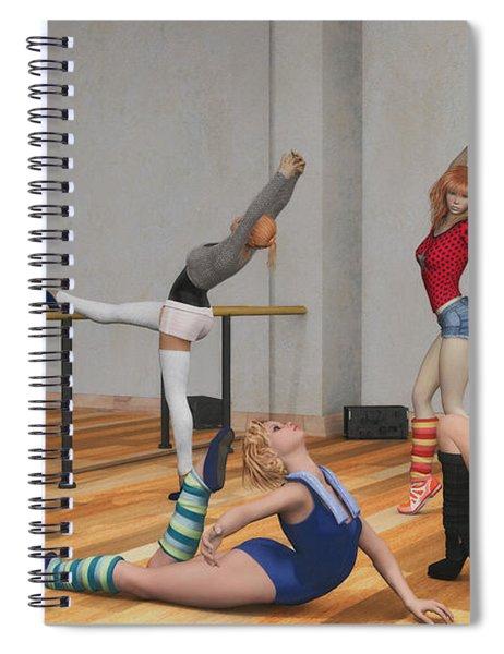 Training Spiral Notebook