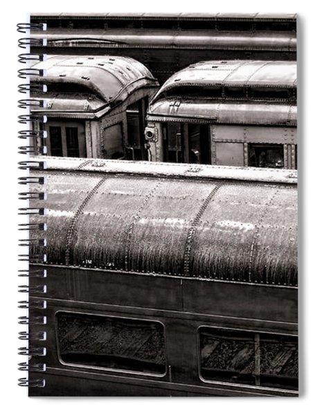 Trains Spiral Notebook