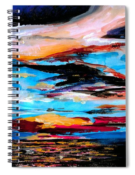 Tranquil Moments Spiral Notebook