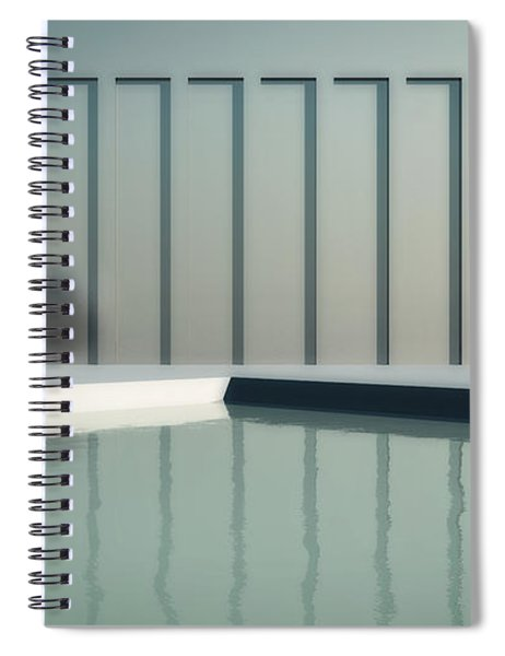 Tranquil Seclusion Spiral Notebook