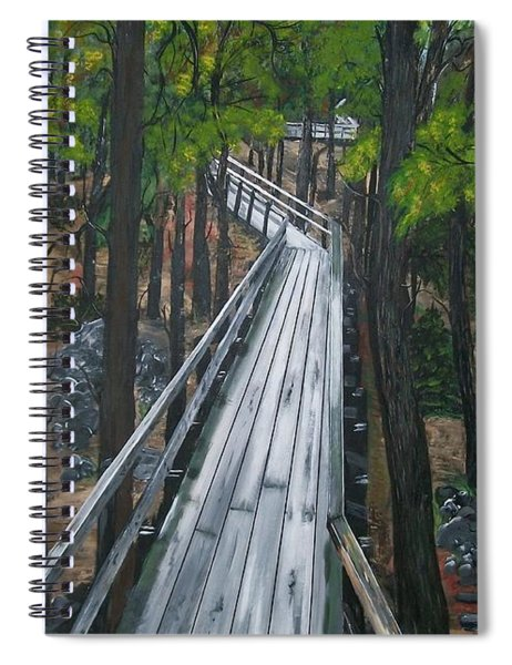 Tranquility Trail Spiral Notebook