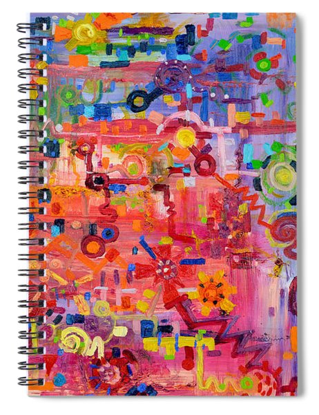 Transition To Chaos Spiral Notebook